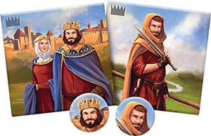 Carcassonne: Count, King and Robber Expansion