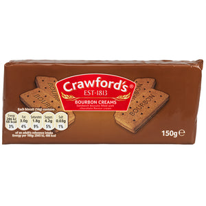 Crawford's Bourbon Cream Biscuits