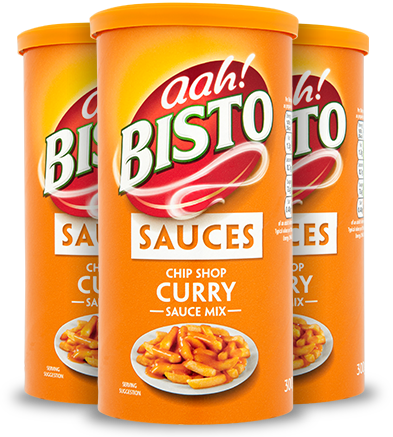 Bisto: Chip Chop Curry Sauce