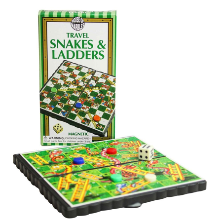 TRAVEL SNAKES AND LADDERS