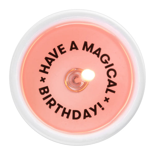 Message Candle - Have a Magical Birthday