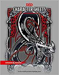 Dungeons and Dragons Character Sheets Sweet Thrills Toronto