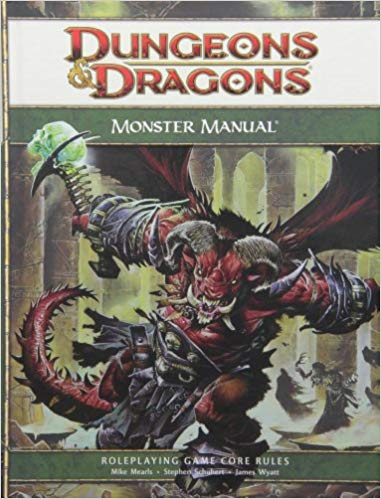 Dungeon and Dragons Monster Manual Sweet Thrills Toronto