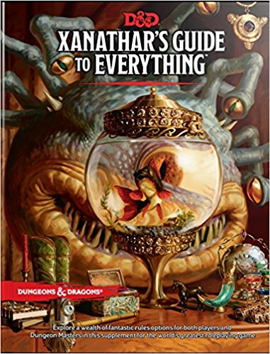 Dungeons and Dragons Xanathar's Guide to Everything Sweet Thrills Toronto