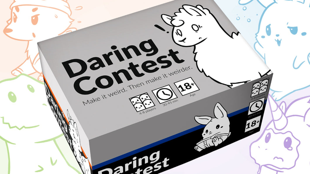 Daring Contest NSFW Game at Sweet Thrills Toronto