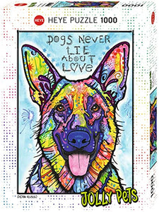 (1000 pcs) Dogs Never Lie