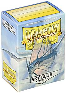 Dragon Shield Sleeves Matte: Sky Blue