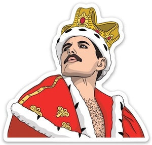 Freddie Mercury Sticker Sweet Thrills Toronto