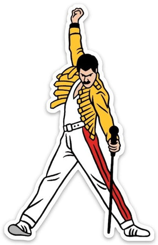 Posed Freddie Mercury Sticker Sweet Thrills Toronto