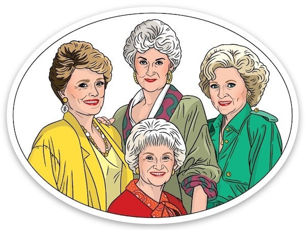 Golden Girls Sticker Sweet Thrills Toronto