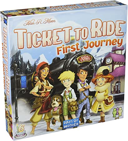 Ticket to Ride My First Journey Game Sweet Thrills Toronto