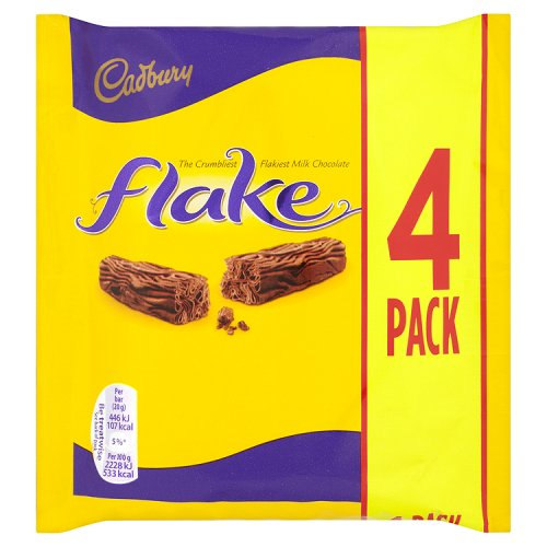 Cardbury Flake (4 Pack)