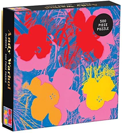 Andy Warhol Flower Puzzle Sweet Thrills Toronto