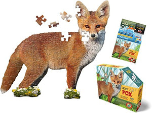 (100 pcs) I Am a Lil' Fox Puzzle