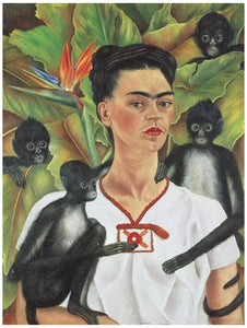 (1000 pcs) Frida with Monkeys