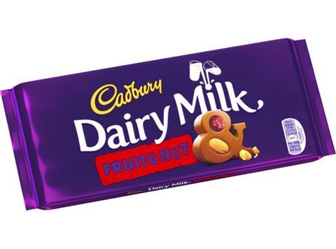 Dairy Milk: Fruit & Nut Sweet Thrills Toronto