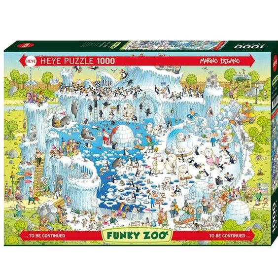 (1000 pcs) Funky Zoo: Polar Bear