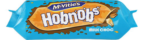 McVitie's Hobnobs: Milk chocolate