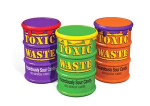 TOXIC WASTE COLOUR DRUMS