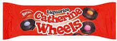 Licorice Catherine Wheels
