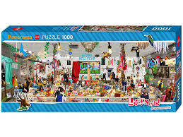 (1000 pcs) New Year's Eve Panorama Puzzle