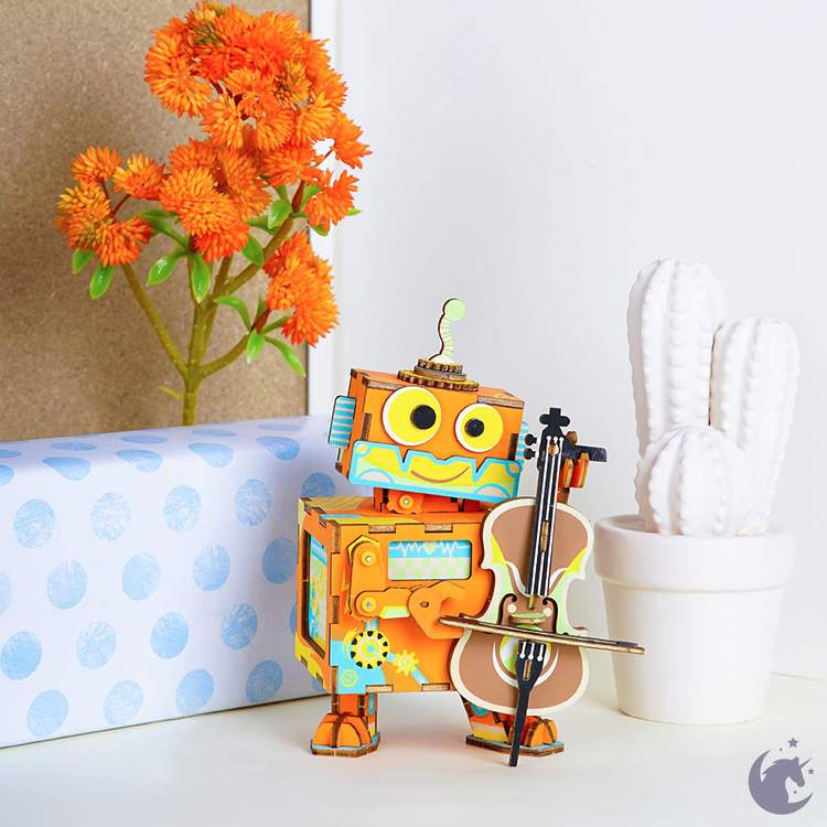 DIY Wooden Little Performer Music Box Sweet Thrills Toronto