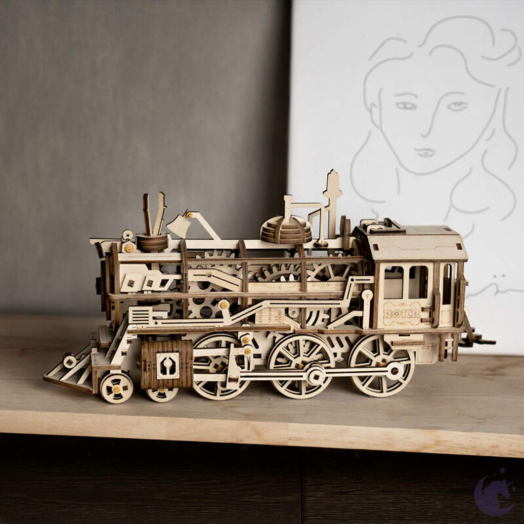 Wooden Locomotive DIY Kit Sweet Thrills Toronto