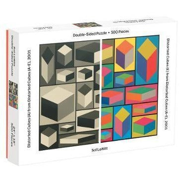 (500 pcs) Double-Sided Moma Sol Lewitt Puzzle