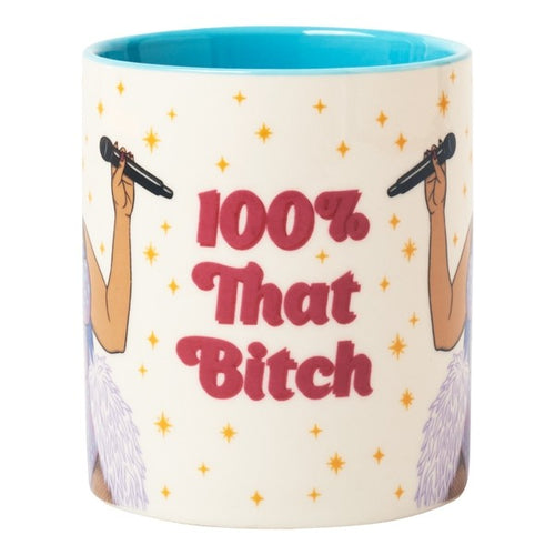Ceramic Mug - 100% That Bitch