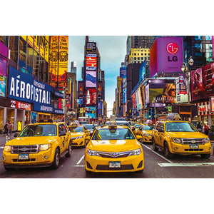 (1500 pcs) New York Taxi Cabs