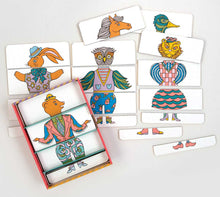 Patch NYC Metamorphosis Mix and Match Character Puzzle Set