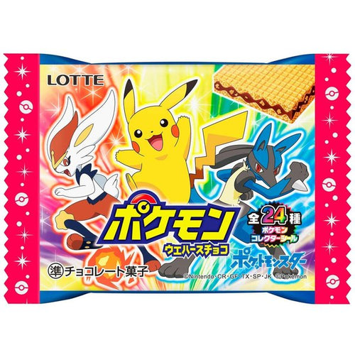 LOTTE POKEMON WAFERS