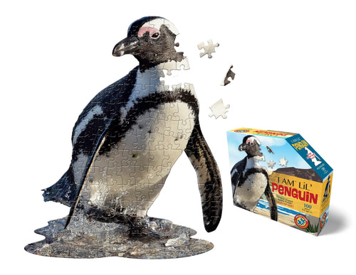 (100 pcs) I Am a Lil' Penguin Puzzle