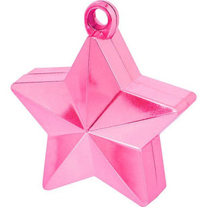 Pink Star Balloon Weight Sweet Thrills Toronto