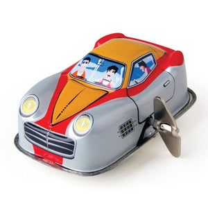 Wind Up Random Racer! Tin Toy Car