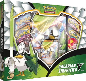 Pokemon Galarian Sirfetch'D V Box