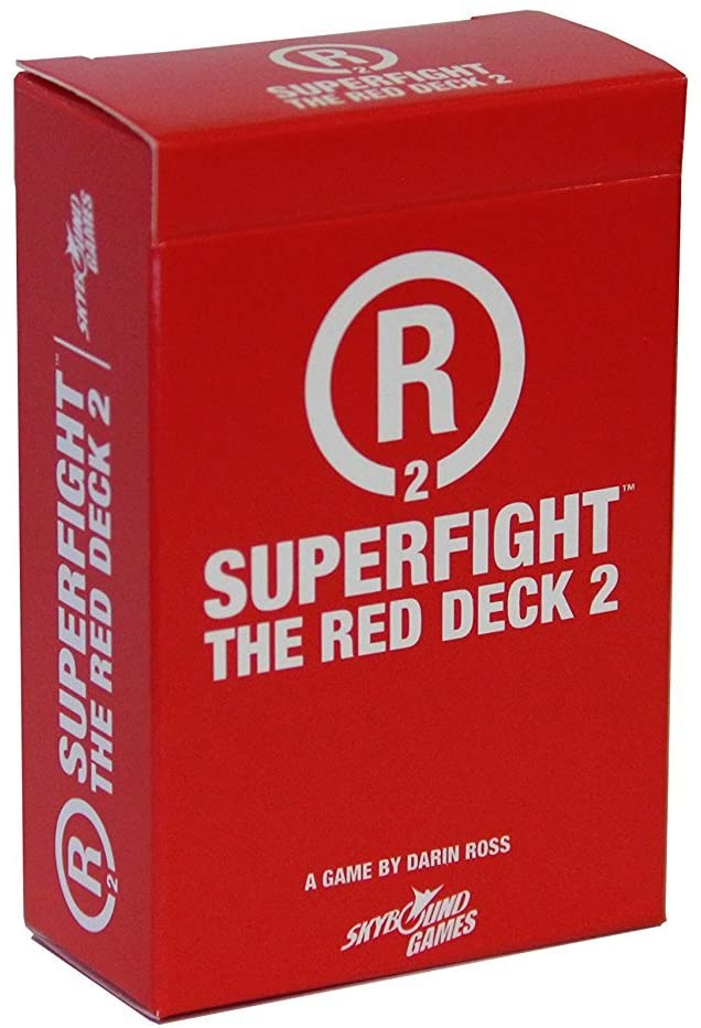 Superfight: The Red Deck 2 Game Sweet Thrills Toronto