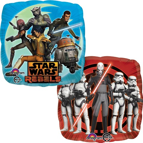Double-sided Star Wars Rebels Balloon Sweet Thrills Toronto