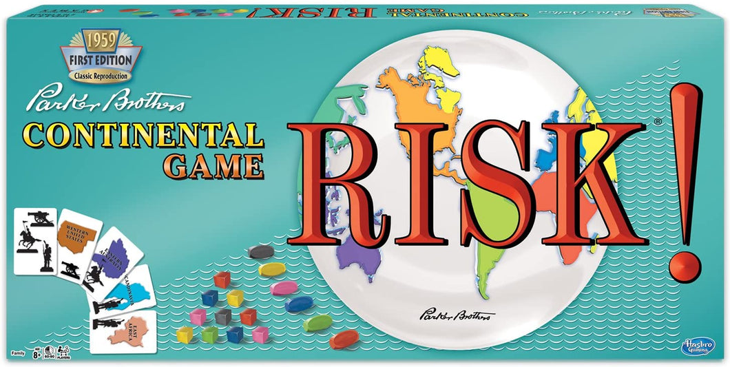 Risk 1959 Game Sweet Thrills Toronto