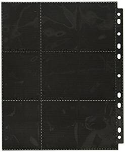 Page Sideload: 18 pockets, 10 pages - Black