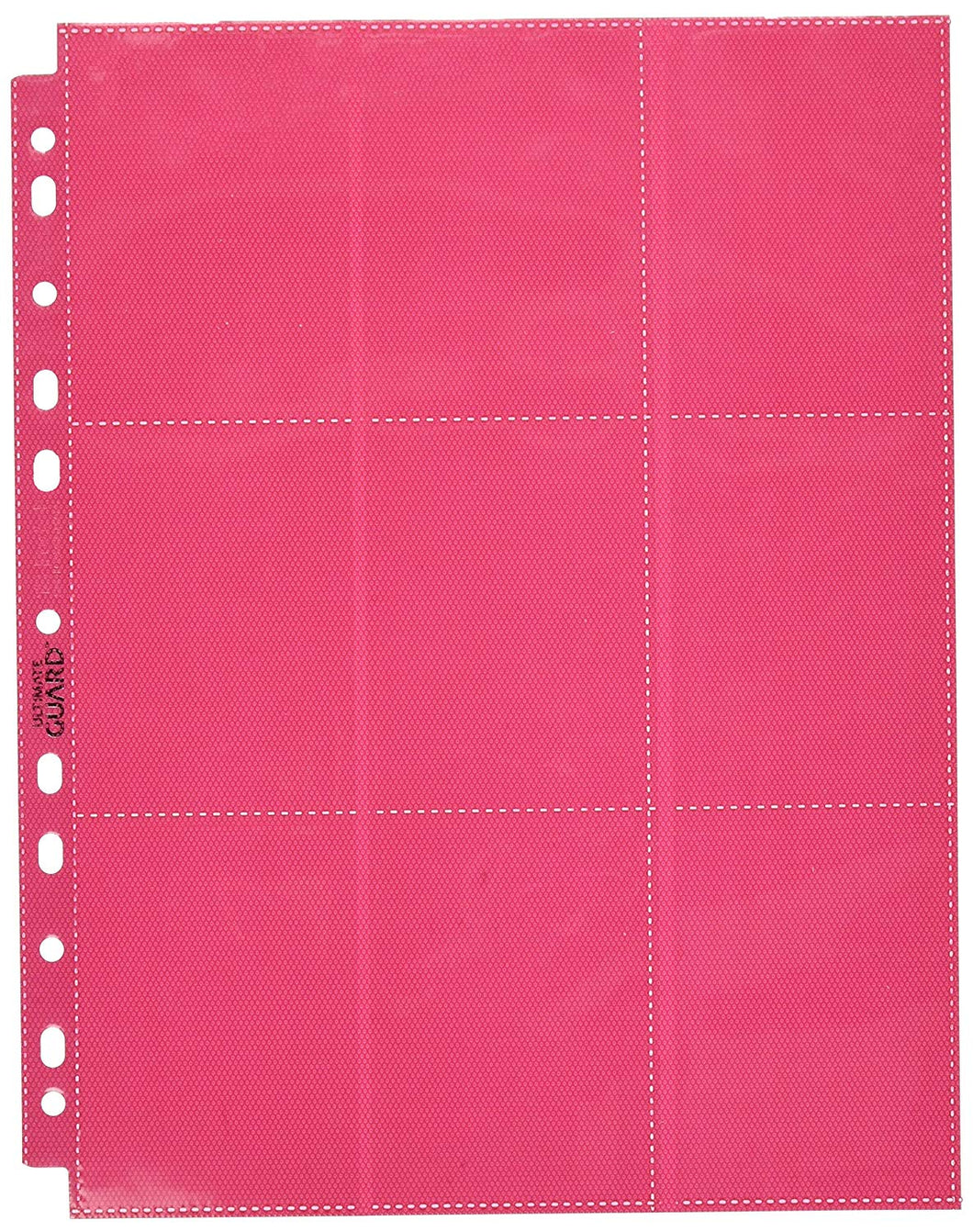 Page Sideload: 18 pockets, 10 pages - Red