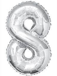 Numbered Balloons 0-9