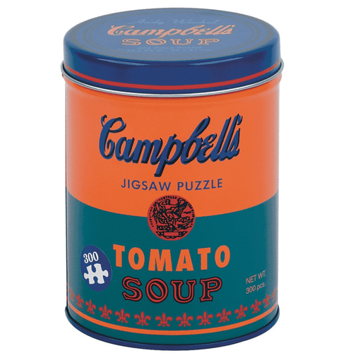 (300 pcs) Andy Warhol Soup Can Puzzle - Orange