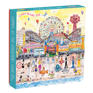 Summer at the Amusement Park By Michael Storrings Puzzle Sweet Thrills Toronto