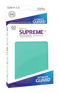 Ultimate Guard Supreme UX Sleeves - Matte Turqoise
