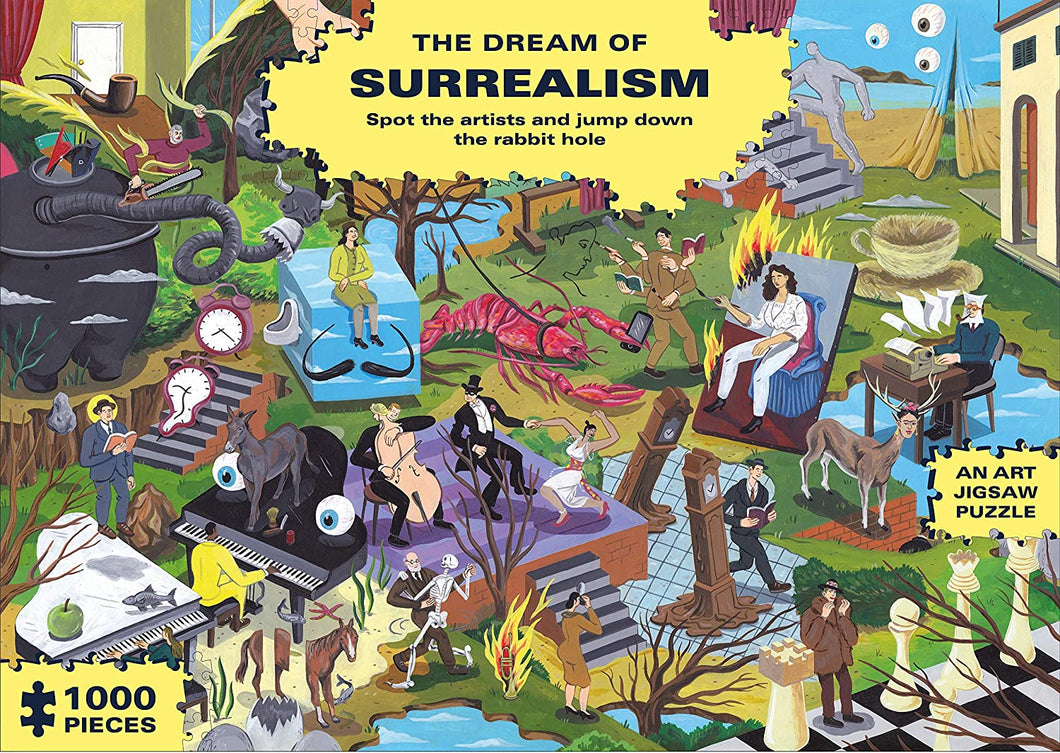 The Dream of Surrealism Puzzle Sweet Thrills Toronto