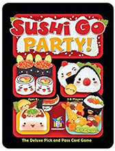 Sushi Go Party Game Sweet Thrills Toronto