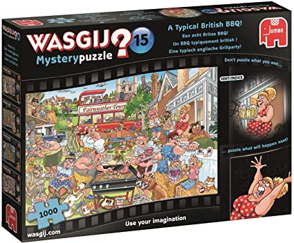 Wasgij Typical British BBQ Puzzle Sweet Thrills Toronto