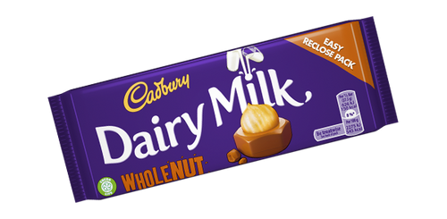 Dairy Milk: Whole Nut (200g)