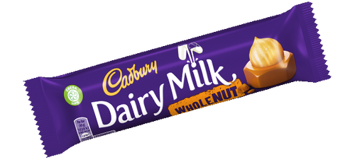 Dairy Milk: Whole Nut (45g)